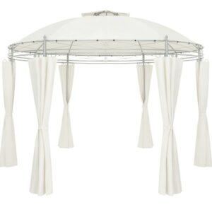 Pavilion EGO-Round, diametru 3.5 m, Bej, include pereti laterali
