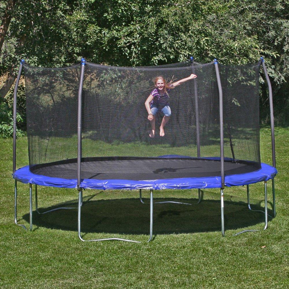 trambulina de gradina pentru copii