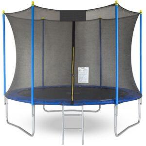 Trambulina pentru copii cu plasa de protectie IDL FREE THE JUMP COLLECTION
